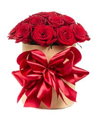 Red Rose Gift Box. Ufa
